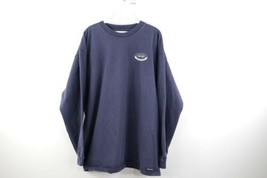 Vtg 90s JanSport Mens XL Georgetown University Faded Spell Out Long Sleeve Shirt - $49.45