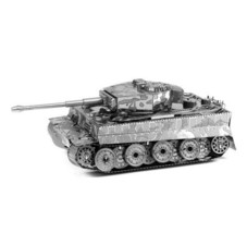 Tiger Tank Miniature 3d Metal Model Puzzles Solid Jigsaw Puzzle Toys Chi... - $9.40
