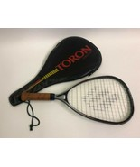 Ektelon Excel Graphite Racquetball Racquet with Soft Cover Strap Brown H... - $19.76
