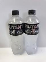Monster Energy Mutant White Lightening 20oz Bottles. Total 2 Bottles Lot - $8.99