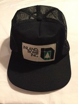 Innovative Prodcuts Hat Mesh patch inland rome inc trucker Cap Black - $10.39