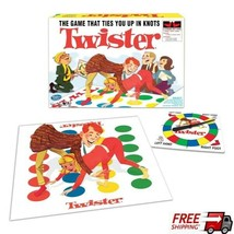 Twister For Every Age Fun Party Game Nights With Vinyl Twister Mat & Spi... - $26.72