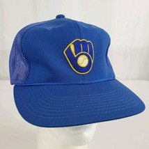 Vintage Milwaukee Brewers Sports Specialties Mesh Snapback Hat Cap Large... - $24.99