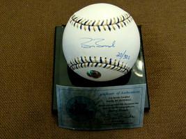 BARRY BONDS GIANTS PIRATES SIGNED AUTO L/E 2002 ALL-STAR BASEBALL BONDS ... - $296.99