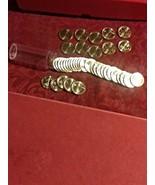 """2019 """"DIE CHIP"""" San Antonio Quarters in TUBE (all 40 coins have die chips) BU - $59.00"""