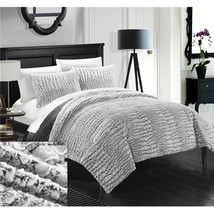 7 Piece Cayman New Faux Fur Collection with Mink Like Backing In Alligat... - $114.87