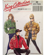 Neue Mode Young Collection Puffy Jackets Size 10-22 Eur 36-48 Pattern M2... - $12.00
