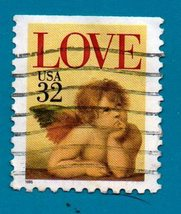 Scott  #2958 Used US Postage Stamp (1995) 32c Love Cherub - $1.99