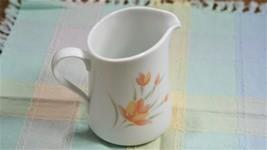 Corelle/Corning Peach Floral Creamer - $4.25