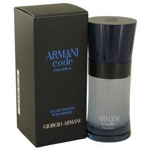 Armani Code Colonia by Giorgio Armani Eau De Toilette  1.7 oz, Men - $52.80