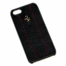 Original New Black Leather Ferrari Case CG FEMO5MBLR Fits Apple iPhone 5... - $6.50