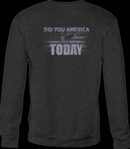 Crewneck Sweatshirt Maine Flag shirt for Men or Women ...