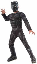 Black Panther Muscle Captain America Civil War Halloween Deluxe Child Costume - $50.53