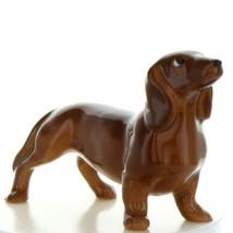 Hagen Renaker Dog Dachshund Standard Ceramic Figurine - $8.96