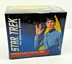 Star Trek The Original Series Spock's Logic Puzzle Box Game NEW SEALED - $12.95