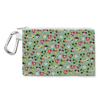 Peter Pan Mouse Ears Disney Inspired Canvas Zip Pouch - $14.99+