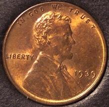 1939 Lincoln Wheat Penny BU #0593 - $2.49