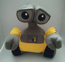 """Disney Store WALL-E Stuffed Plush Character 14"""" Exclusive Patch Rotating Head - $27.71"""