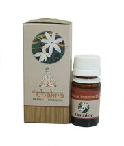 Shree Chakra Jasmine Essential Oil 10 mL 100% Pure and Natural Free Ship... - $6.92