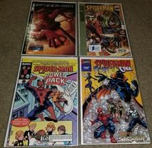 Marvel Comics Spider-man 1 2 3 4 Promo book Rare set lot NEA Wal-Mart RI... - $3.99