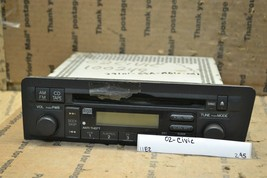 03 Honda Civic Sdn AM FM Stereo Radio Receiver CD 39101S5AA610M1 Player 295-11E2 - $28.04