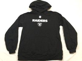 M136 New REEBOK Black Oakland Raiders Hooded Sweatshirt Hoodie MEN'S Sizes - €29,68 EUR