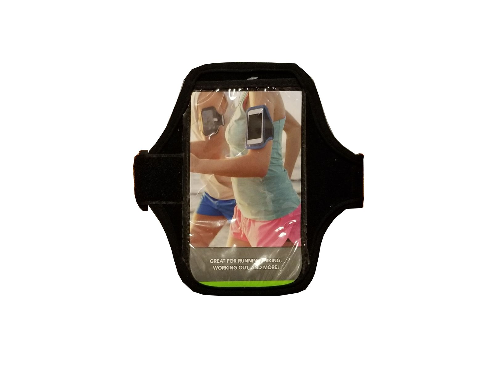 Cellphone armband 6 inch black