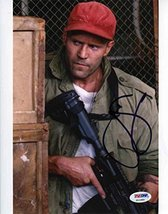 Jason Statham Expendables 3 Signed 8x10 Photo Certified Authentic PSA/DNA COA - $227.69