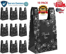 10pk Reusable Grocery Shopping Bags Heavy Duty Extra Large Eco Friendly ... - $33.70