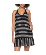 Porto Cruz Striped Dress Swimsuit Cover-Up Size L Msrp $42.00 New - $19.99