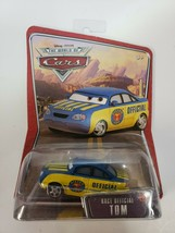 NEW Disney Pixar Cars Race Official Tom Die Cast Toy Car From Mattel #57 - $9.49