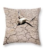 Desert Skull, Throw Pillow, seat cushion, fine art, home decor - $41.99 - $69.99