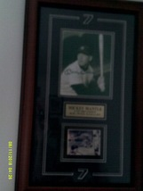 Mickey Mantle Autographed COA 18X24 Frame-NEW - $400.00