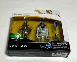 Star Wars Force Link 2.0 C-3PO and R2-D2 Action Figure NEW - $14.84