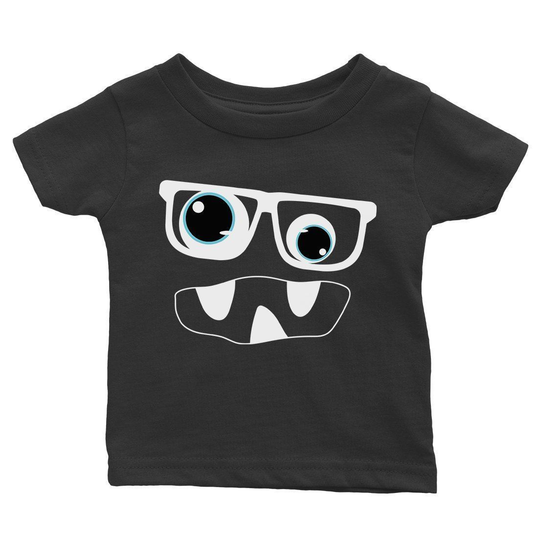 Monster With Glasses Baby Gift Tee