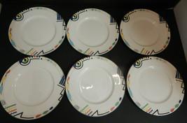 "Mikasa Ultima+ Headline Super Strong Fine China six Salad Plates 8-1/2"" - $54.40"