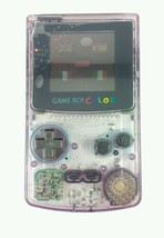Atomic Purple Game Boy Color w/ New Screen Tomb Raider Car Adapter - $49.49