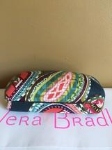 "Vera Bradley "" Heirloom Paisley "" Hard Sunglasses Eyeglasses Large Case NEW - $22.99"