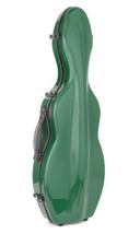 TONARELI Fiberglass Violin 4/4 Full Hard Case - GREEN - NEW with straps - $219.00
