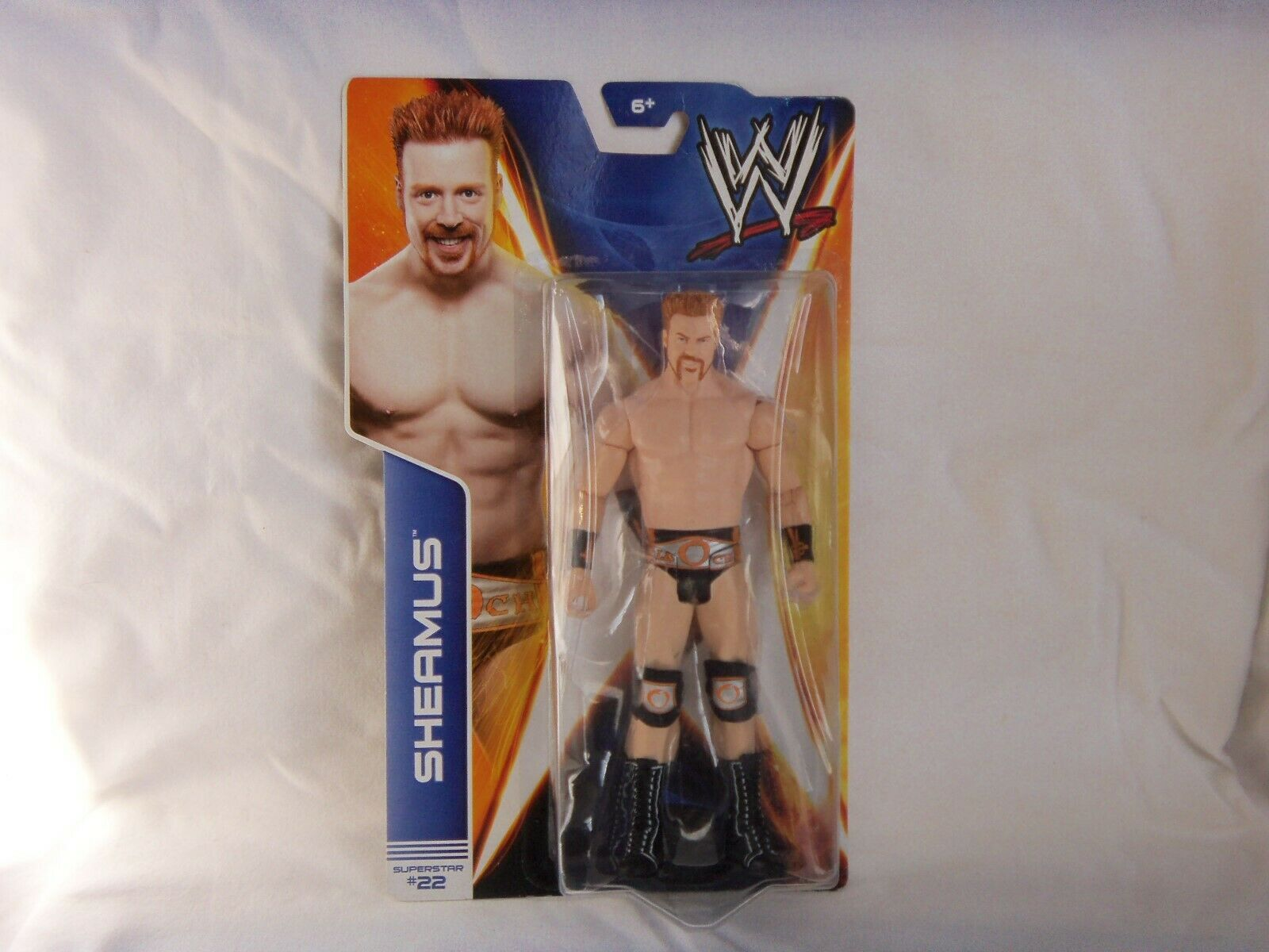 Primary image for WWE SHEAMUS ACTION FIGURE 2013  MATTLE    NEW IN PACKAGE