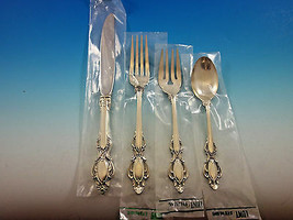 Lasting Grace by Lunt Sterling Silver Flatware Service for 12 Set 49 Pcs... - $3,495.00
