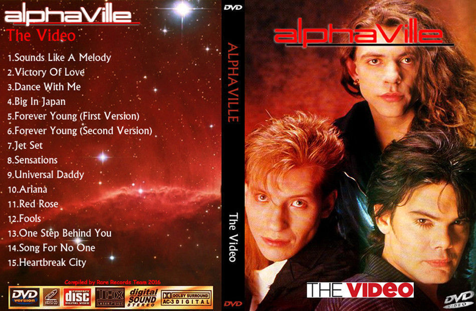 ALPHAVILLE The Video Collection Bootleg DVD Rare Hard To Find