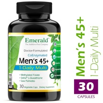 An item in the Health & Beauty category: Men's 45+ 1-Daily Multi - Multivitamin with CoQ10 Supports Heart Health, Immune