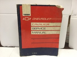 1992 Chevy Cavalier Shop Service Repair Manual Book  2.2L 3.1L V6 - $14.00