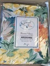 NEW Croscill Biltmore Blouson Valance Multi Color FREE SHIP - $22.00