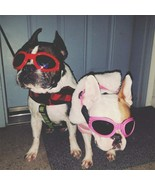 Sunglasses Fashion Dog Cool Pet Dog Accessories Adjustable Glasses For F... - £9.32 GBP