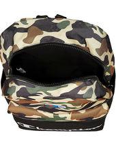 Champion Men's Manuscript Canvas School Backpack Shoulder Zipper Book Bag image 5