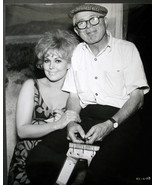 BILLY WILDER,DIRECTOR AND KIM NOVAK (KISS ME STUPID) CANDID ON THE SET P... - $148.50