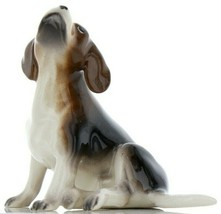 Hagen Renaker Specialty Dog Beagle with Beard Ceramic Figurine Larger Size