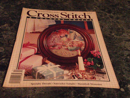 Cross Stitch & Country Crafts Magazine November/December 1989 Nutcracker... - $0.99